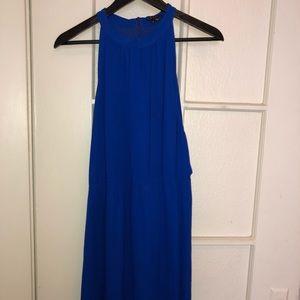 Royal Blue Theory Dress